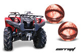 Headlight Decal Stickers Yamaha Grizzly
